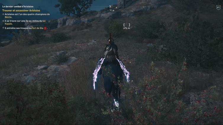 xao styles playing Assassin's Creed Odyssey