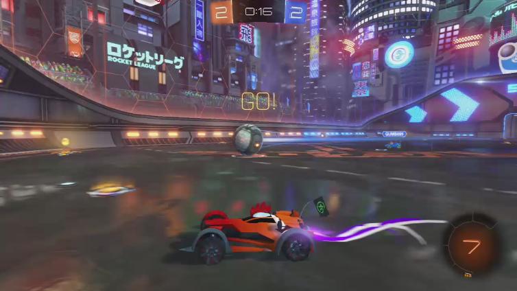 CraigTMG playing Rocket League