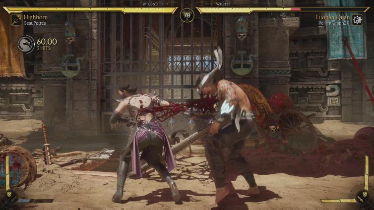 BeauPetrea playing Mortal Kombat 11